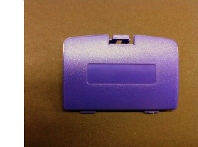 (NEW PURPLE GAME BOY COLOR REPLACEMENT BATTERY COVER LID DOOR FOR SYSTEM CONSOLE)