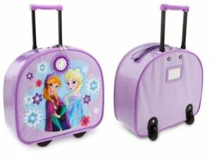 Disney Store Frozen Elsa & Anna Rolling Suitcase Luggage