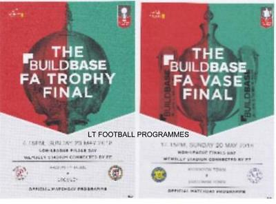 * 2018 FA TROPHY & VASE FINAL - BRACKLEY v BROMLEY & THATCHAM v STOCKTON *