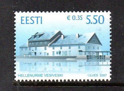 ESTONIA MNH 2007 SG554 HELLENURME WATER MILL