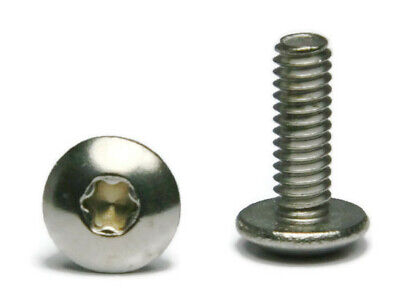 14-20 18-8 Stainless Steel Star Drive Truss Head Machine Screw - Select Size