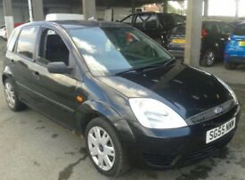 Ford Fiesta Style 1.4 Petrol 55 Plate Not Corsa Astra Clio Punto Micra