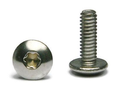 Torx Truss Head Machine Screw Stainless Steel Screws 14-20 X 34 Qty 25
