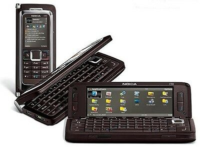 NOKIA E SERIES E90 Communicator Mocha (Unlocked) Business Smartphone Mobilephone
