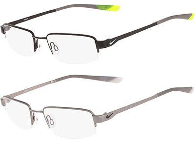 Nike Flexon Memory Metal Men's Semi-Rimless Eyeglass Frames - (Mens Semi Rimless Frames)