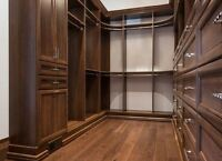 Helper Needed for Cabinet and Closet Installations