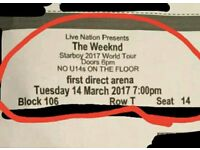 2 x The weeknd tickets SEATED