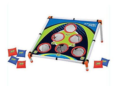 Kids Sports Carnival Games Bean Bag Toss Game Corn Hole Camp Outdoor - Bean Toss Game