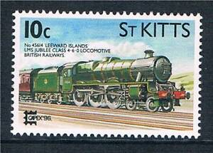 St-Kitts-1996-Locomotive-Capex-96-SG-457-MNH
