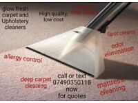 GLOW FRESH - *5 STAR RATED* - CARPET AND UPHOLSTERY CLEANING SERVICE