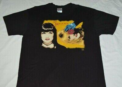 Heart 1993 Heart to Heart Concert Tour Shirt Mens XL Original Ann Nancy Wilson image