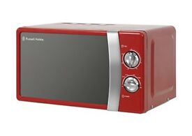 Russell Hobbs Red Manual Microwave Oven RHMM701 700w