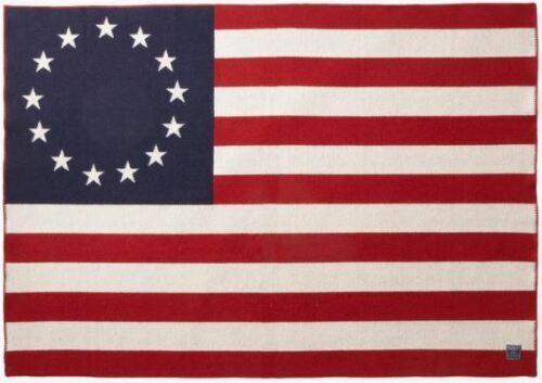 Faribault Woolen Mill Co. 1776 Flag Throw - Betsy Ross