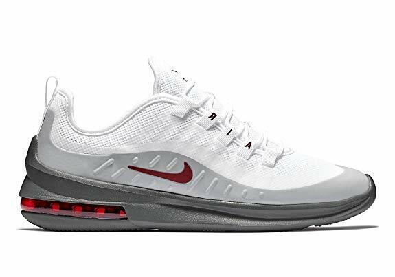 New Men's Nike Air Max Axis Shoes (AA2146 102) White Team Red Cool Grey