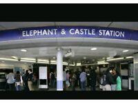 Studio elephant castle to rent £850pcm
