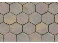 Hexaganol Paving Slabs