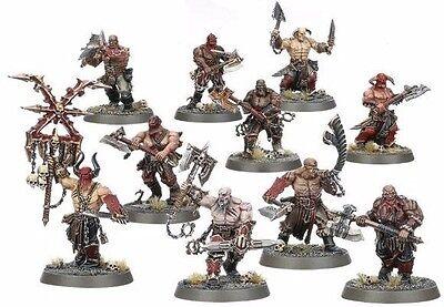 Warhammer Age of Sigmar Hammerhal Khorne Bloodbound Bloodreavers Chaos Marauders
