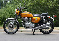 WANTED PRE 1975 MOTORCYCLE running or not
