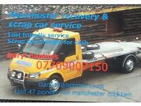 Manchester recovery & scrap car service