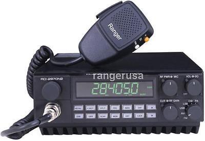 Ranger Rci 2970N4 Am Fm Ssb Cw 10   12 Meter Radio 400W Pep   Tuned   Aligned
