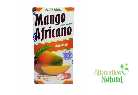 MANGO AFRICANO (MASTER MAGIC) AFRICAN MANGO 30 Capsulas Original