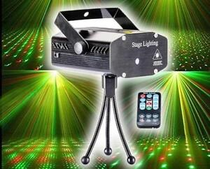 Studio DJ Laser Stage Light Lighting LED Party Show Club Disco Lumière