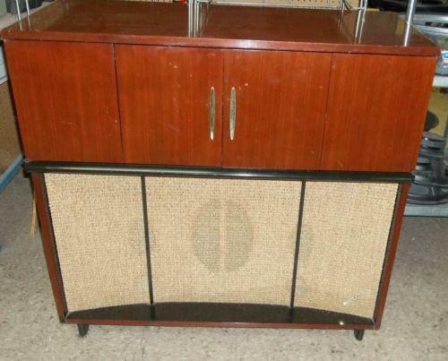 Vintage Record Player Cabinet Ebay