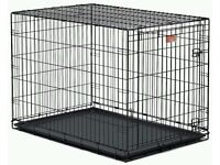 Dog cage large x2 £30 each