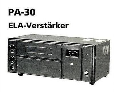 TOA Electric CO LTD Amplifier PA-30 30W Amplifier/Mixer (Mono)