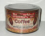 Butternut Coffee Tin