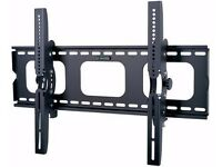 "TILT TV WALL BRACKET MOUNT PLASMA LED LCD 3D 32 34 37 40 42 46 48 50 55""+60 AND 65 INCH"