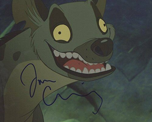 Jim Cummings Signed Autographed 8x10 Photo The Lion King Voice Actor COA VD