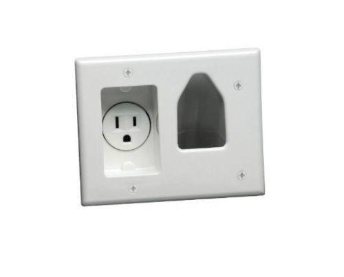 Cable tv wall plate ebay - Tv mount wall plate ...