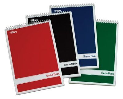 Tops Gregg-ruled Steno Book - 80 Sheets - Printed - Wire Bound - 15 Lb 80220