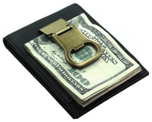bottle opener money clip ebay. Black Bedroom Furniture Sets. Home Design Ideas