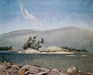 "Limited Edition ""In the Islands Georgian Bay"" by A.J. Casson"