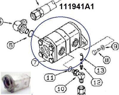 New Case 460 Trencher Hydraulic Gear Pump