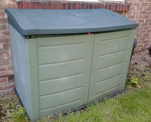Plastic Storage Shed Buying Guide Ebay