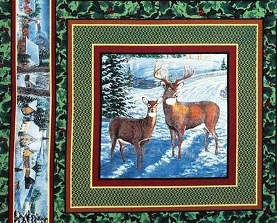Ткань Winters Eve Two Deer Buck