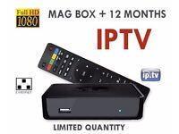 MAG 250 receiver IPTV CHANNELS HD Zgemma openbox skybox