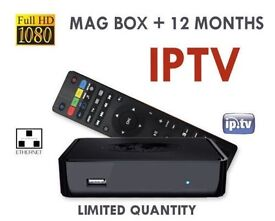 Mag 250 IPTV All channels HD SD sKYBox f5s