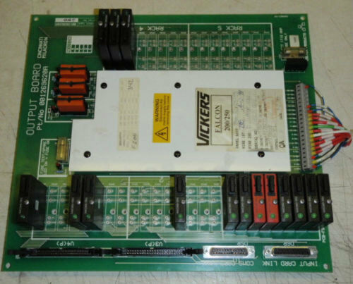 Cincinnati Milacron Output Circuit Board 001269620A _ PCB-FSC-495-96 _ OO126962O