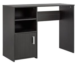 black desk, argos, Ideal for office, Excellent condition, Already built,