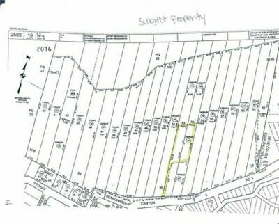 Residential Land For Sale 0.57 Acr Los Angeles Blanchard Canyon Tujunga Ca 91042
