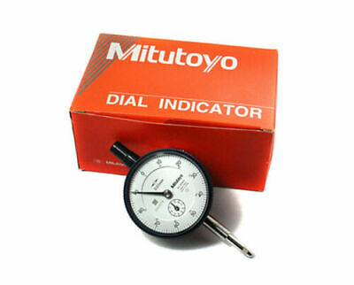 Made In Japan Mitutoyo 2046s Dial Indicator 0-10mm X 0.01mm Grad Free Shipping