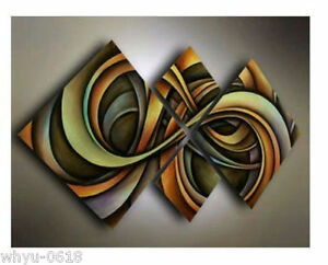 MODERN-ABSTRACT-HUGE-WALL-ART-OIL-PAINTING-ON-CANVAS-ZZ06