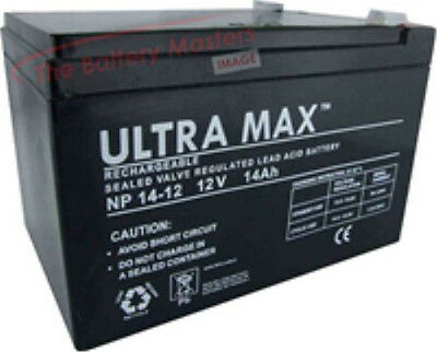 Par De 12V 14AH (Como 12A) Baterías - Oset Spider 16.0 Eléctrico...