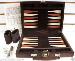 Backgammon set ebay leather backgammon set publicscrutiny Choice Image
