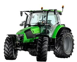 2017 Deutz Fahr Series 5 99-127 Hp Tractors