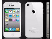 iPhone 4S, 8GB - White - O2 Network - LIKE NEW!